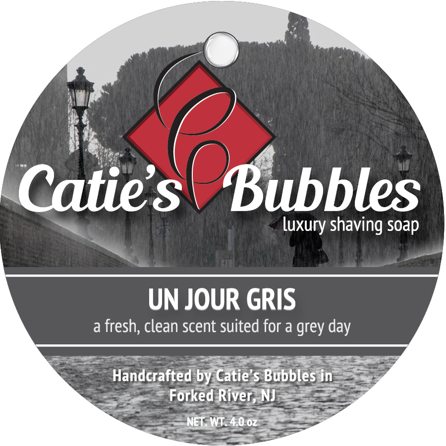 Catie's Bubbles - Un Jour Gris - Soap image