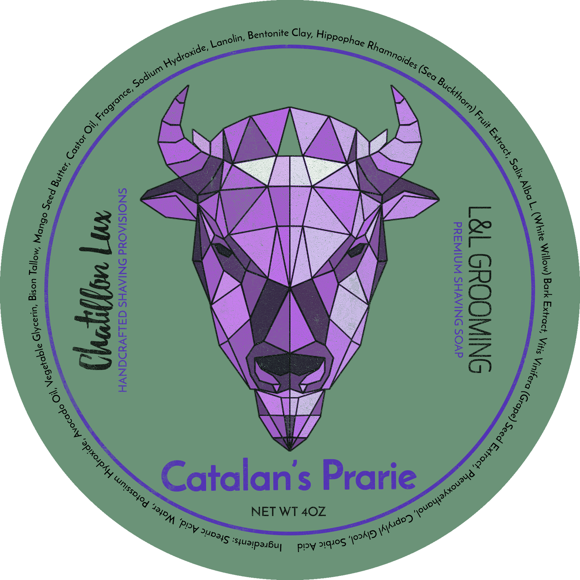 Chatillon Lux/Declaration Grooming - Catalan's Prairie - Soap image