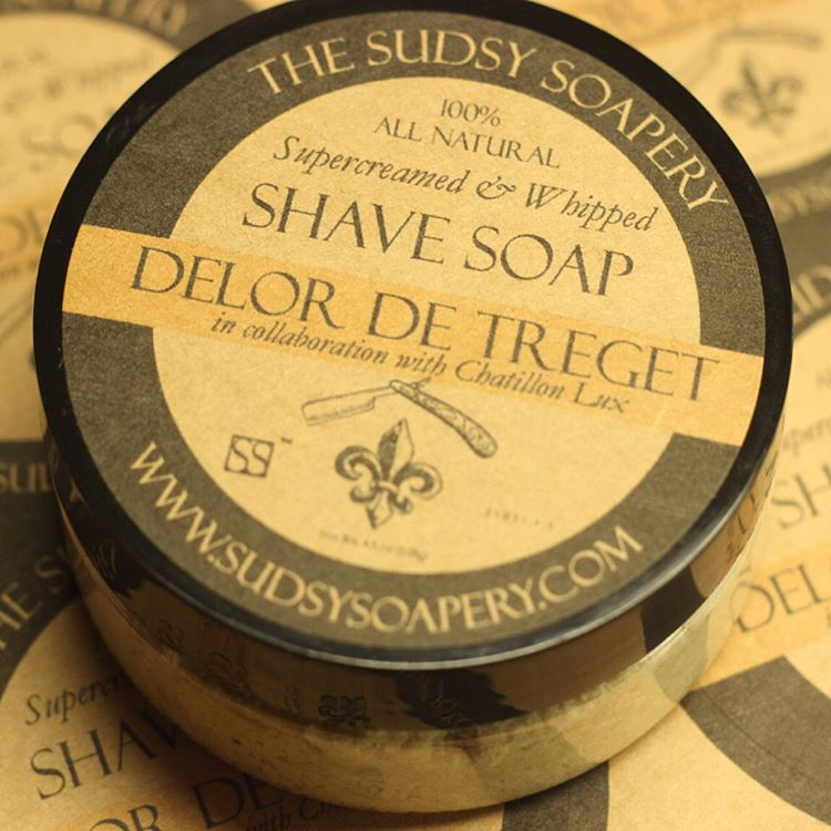 Chatillon Lux/The Sudsy Soapery - Delor de Treget - Soap image