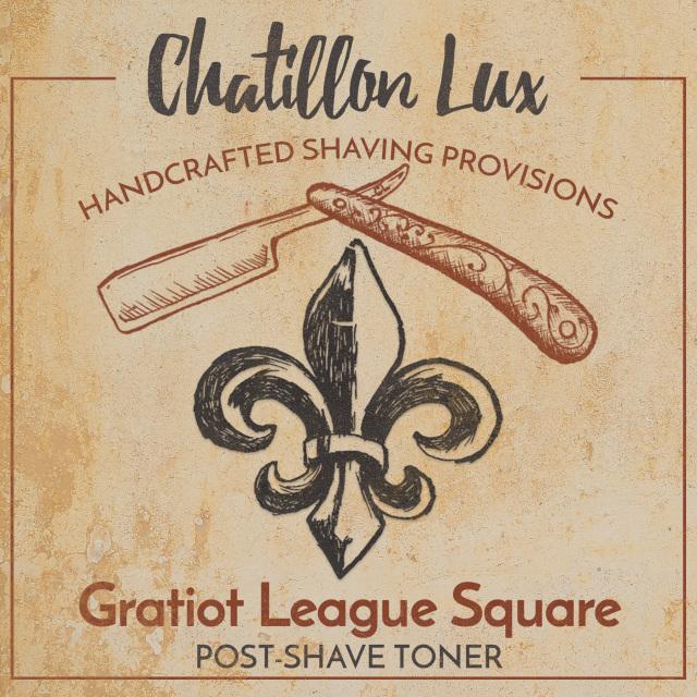 Chatillon Lux - Gratiot League Square - Toner image