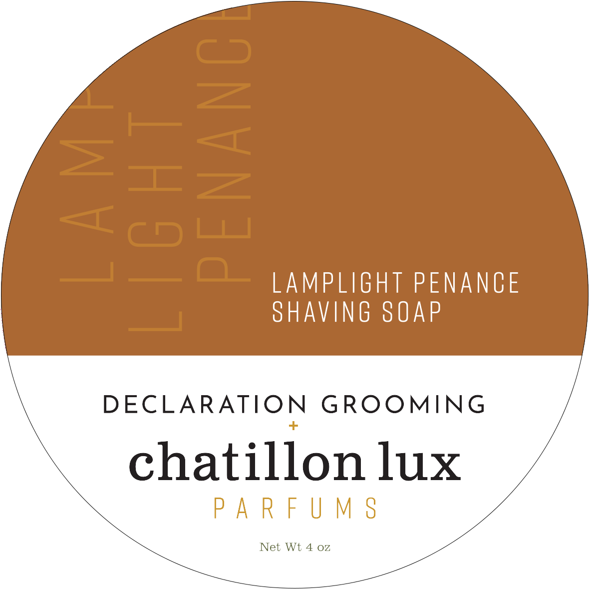 Chatillon Lux/Declaration Grooming - Lamplight Penance - Soap image