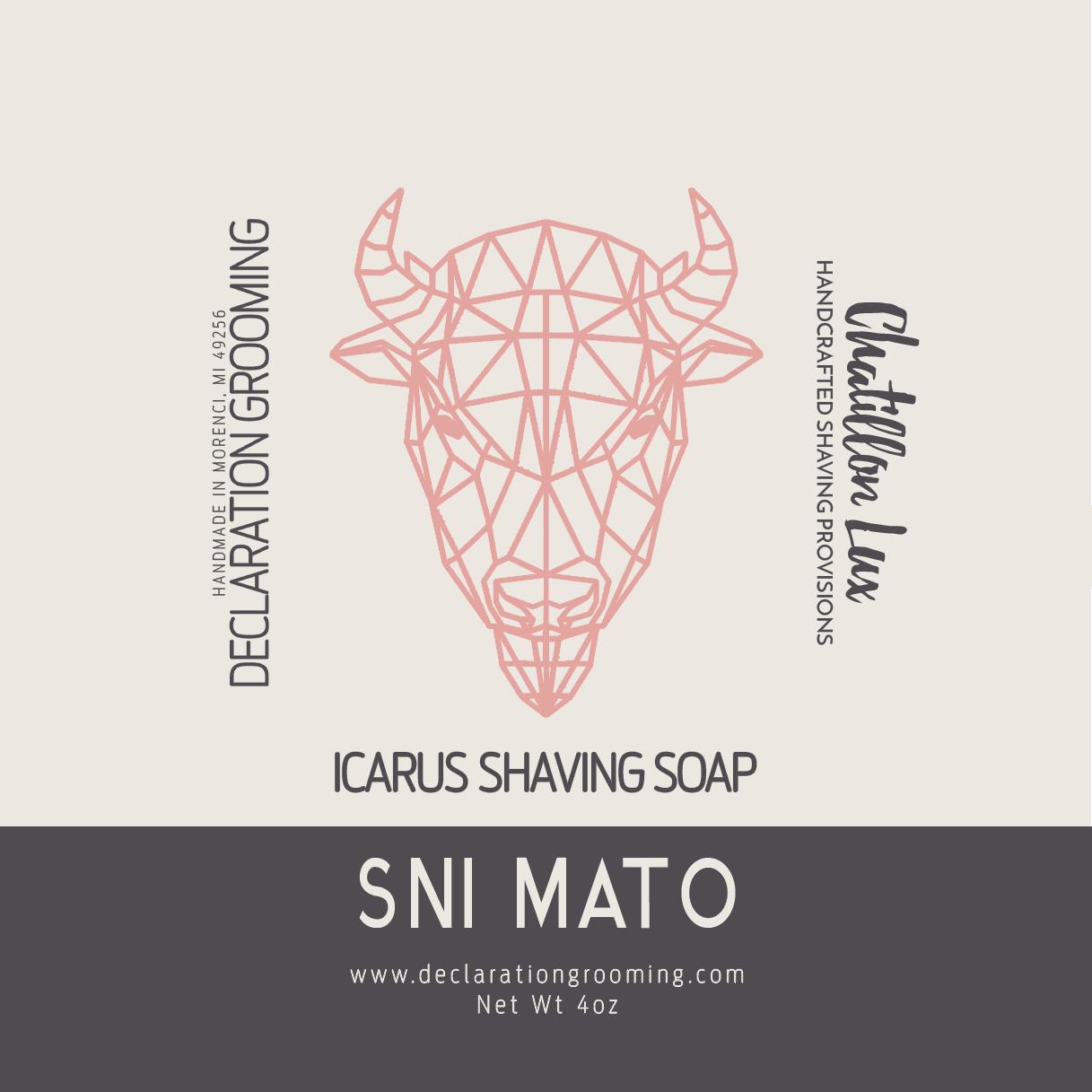 Chatillon Lux/Declaration Grooming - Sni Mato - Soap image