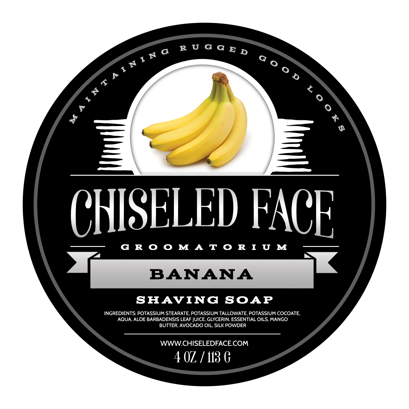 Chiseled Face - Banana - Soap image