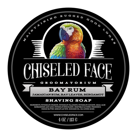 Chiseled Face - Bay Rum - Soap image