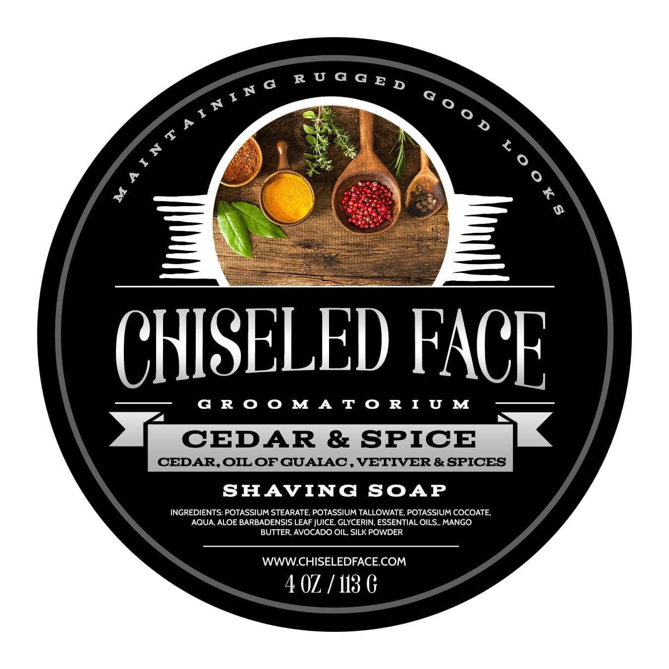 Chiseled Face - Cedar & Spice - Soap image