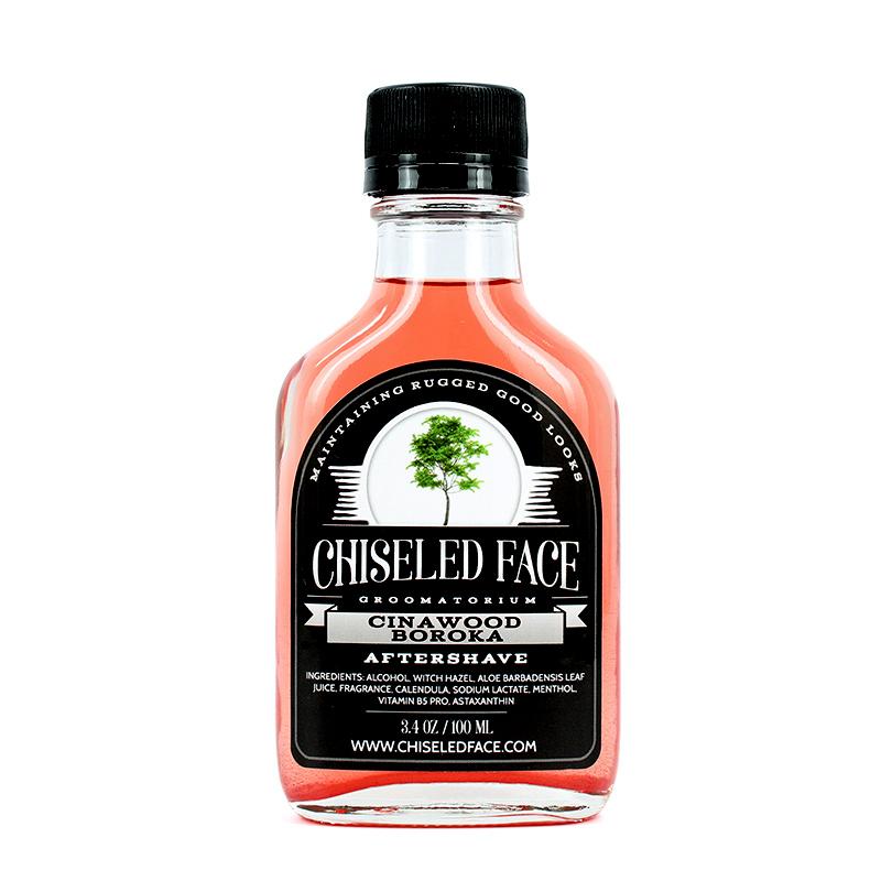 Chiseled Face - Cinnawood Boroka - Aftershave image