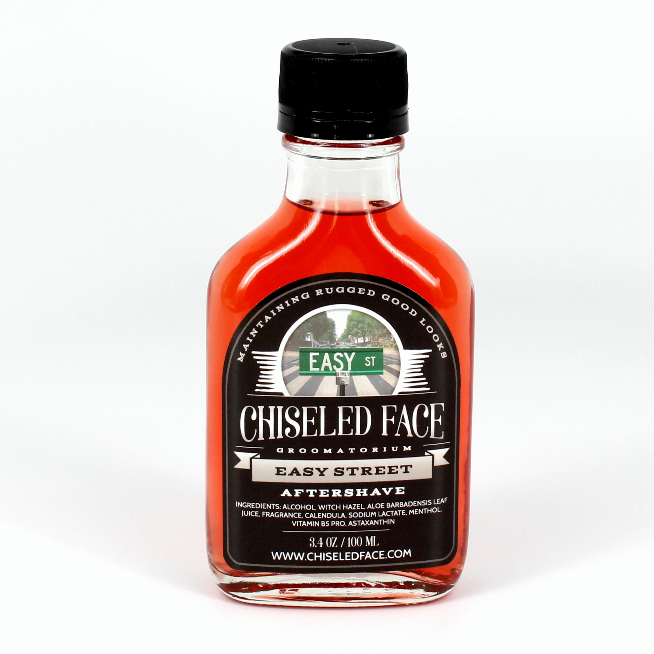 Chiseled Face - Easy Street - Aftershave image