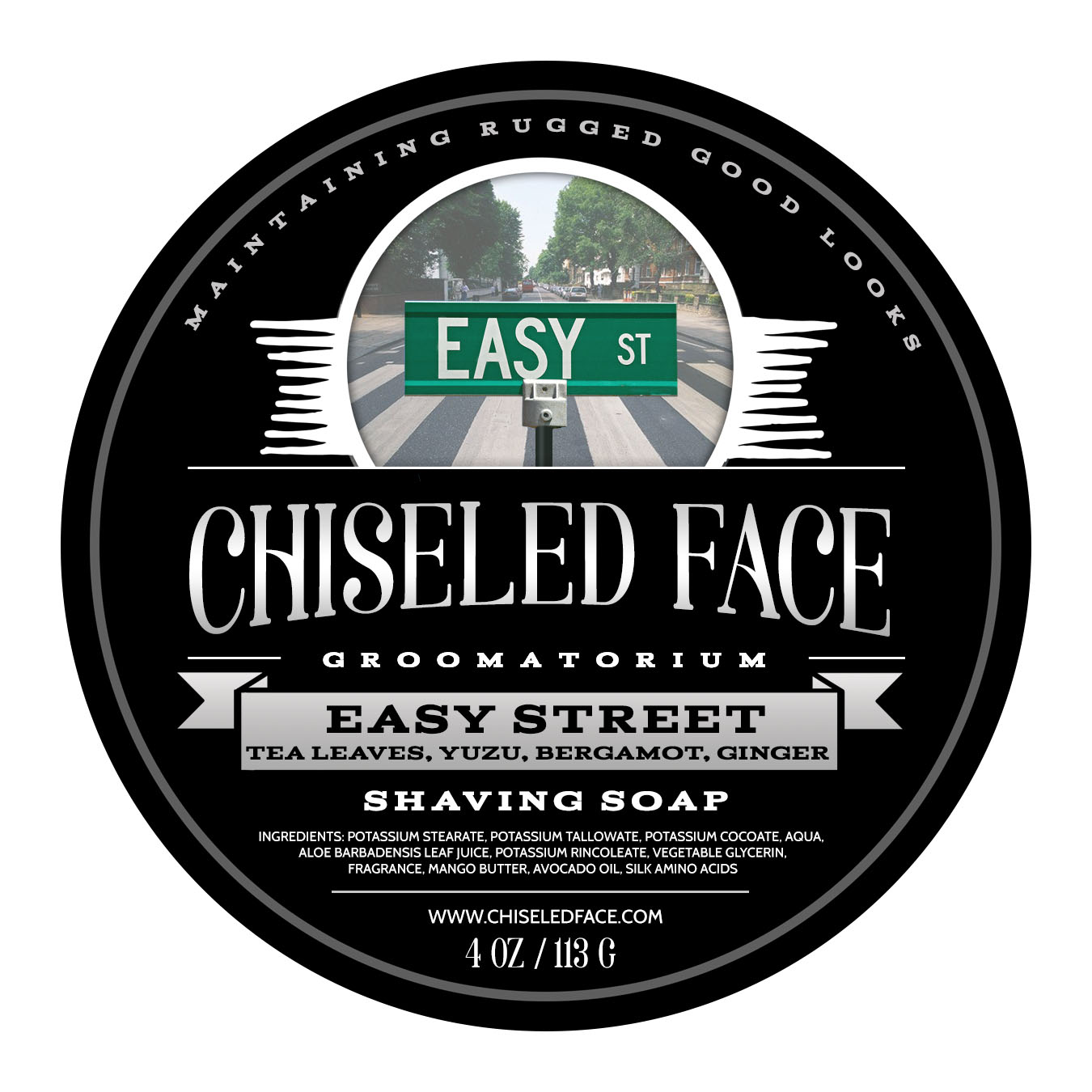 Chiseled Face - Easy Street - Soap image