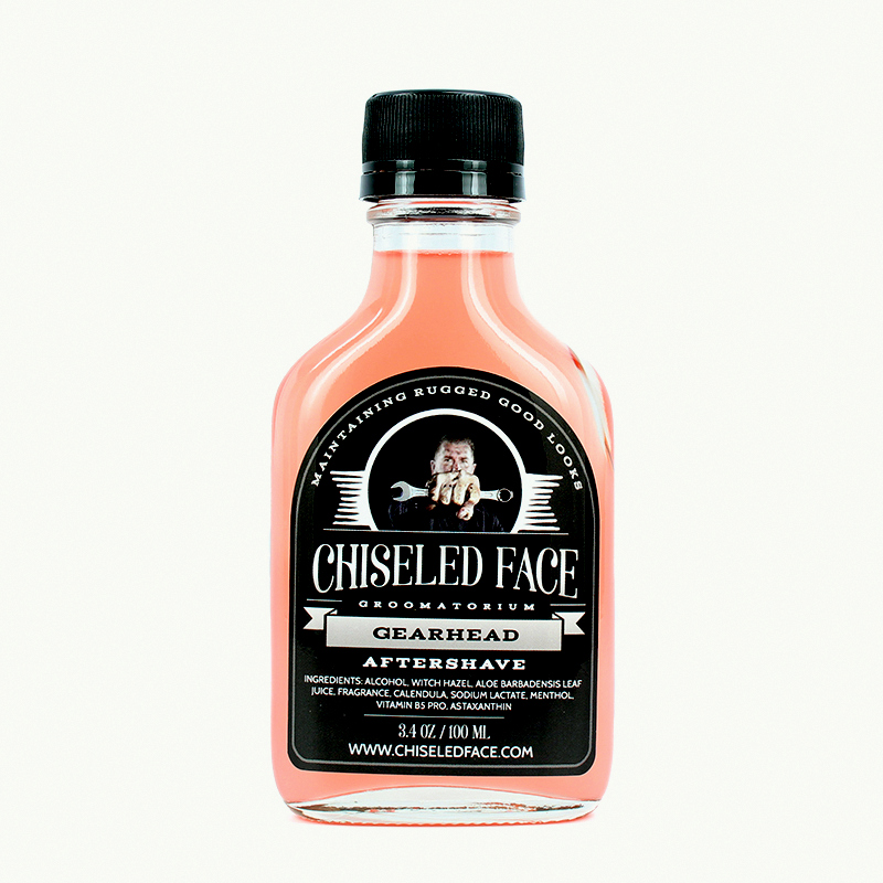 Chiseled Face - Gearhead - Aftershave image