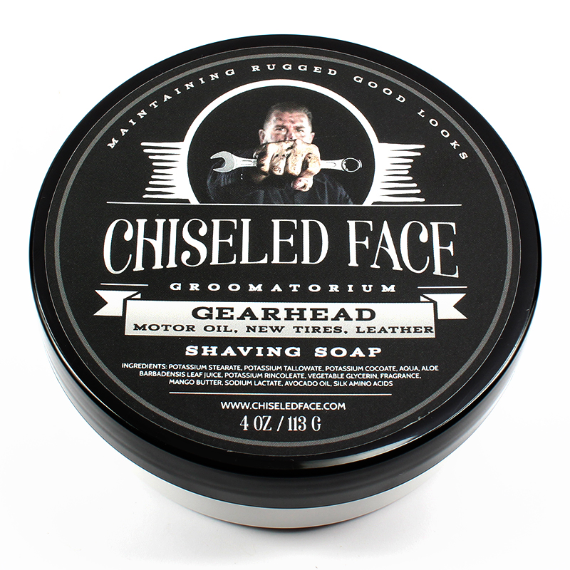 Chiseled Face - Gearhead - Soap image