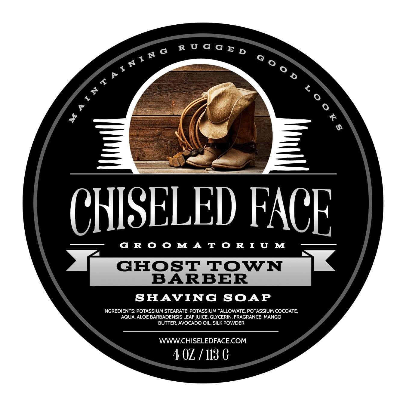 Chiseled Face - Ghost Town Barber - Soap image