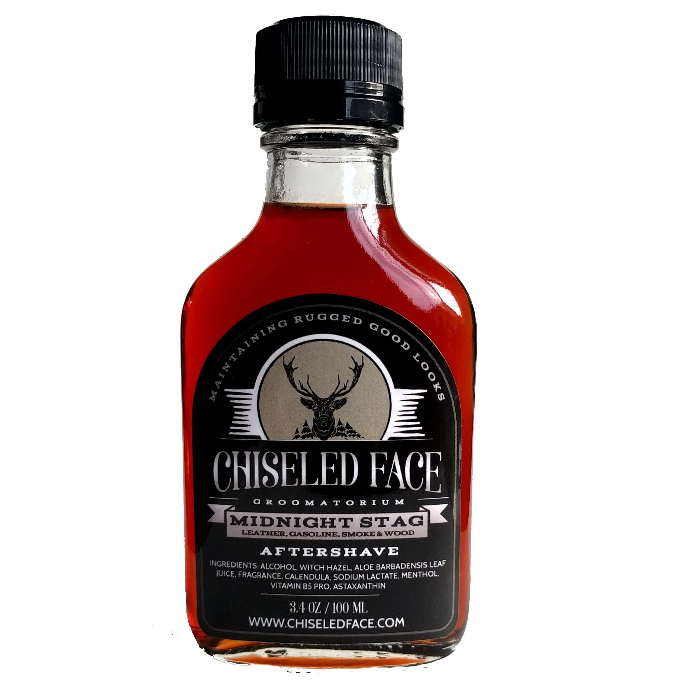 Chiseled Face - Midnight Stag - Aftershave image