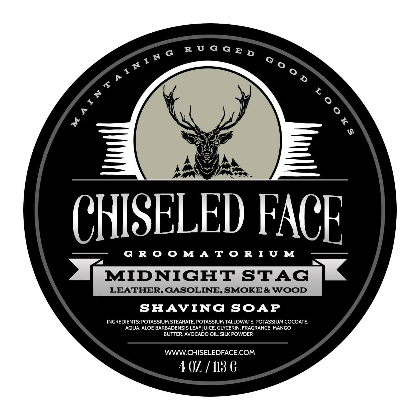 Chiseled Face - Midnight Stag - Soap image