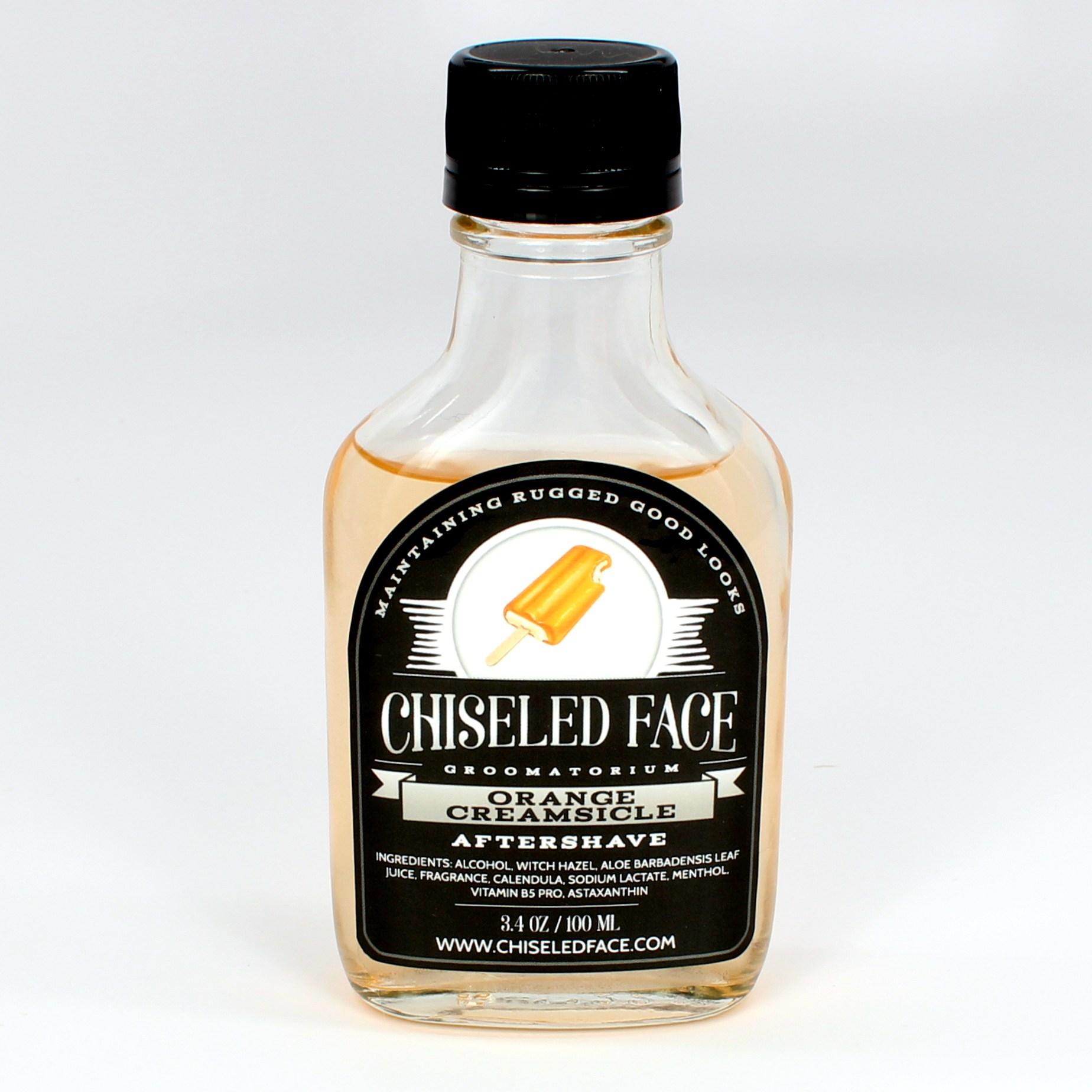 Chiseled Face - Orange Creamsicle - Aftershave image
