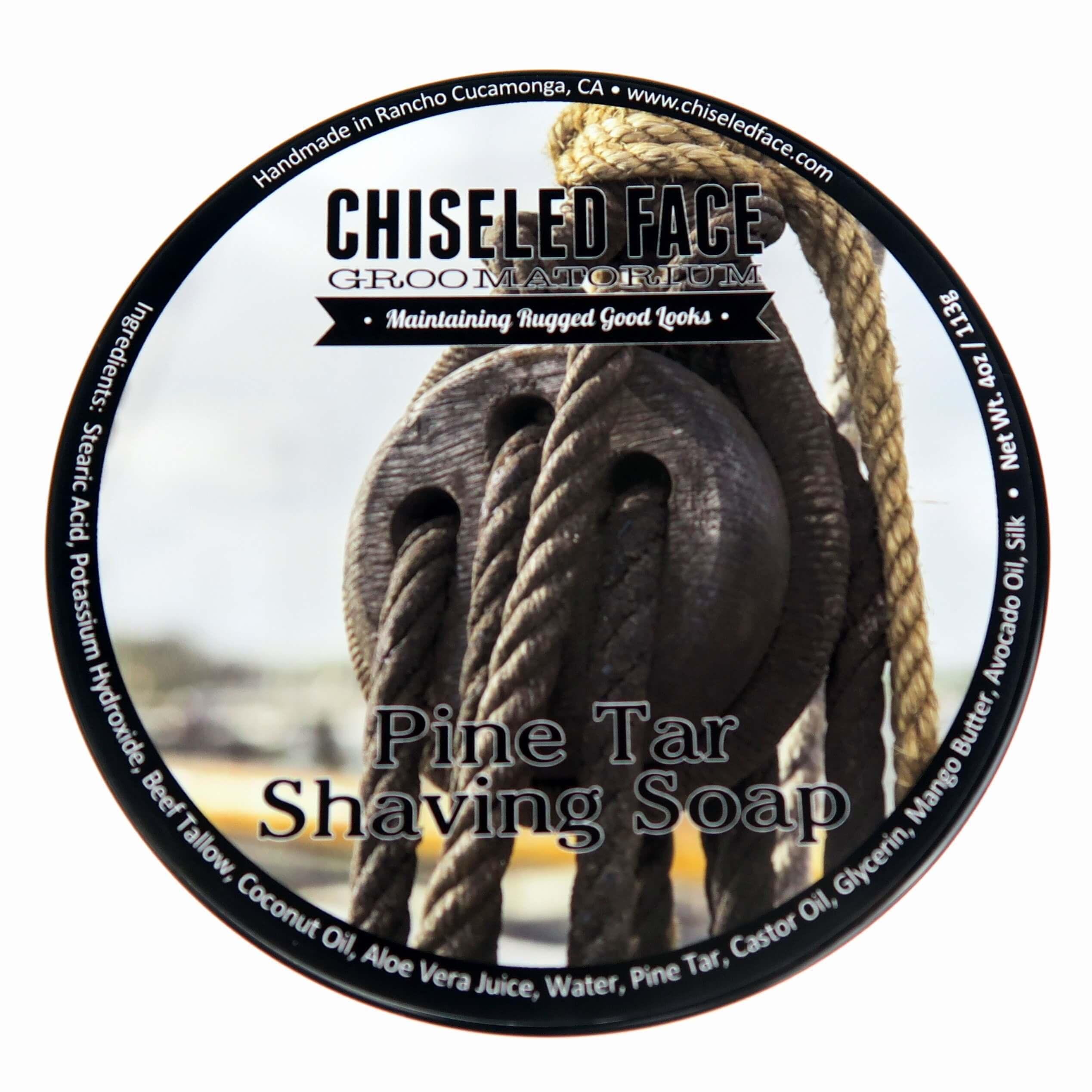 Chiseled Face - Pine Tar - Soap image