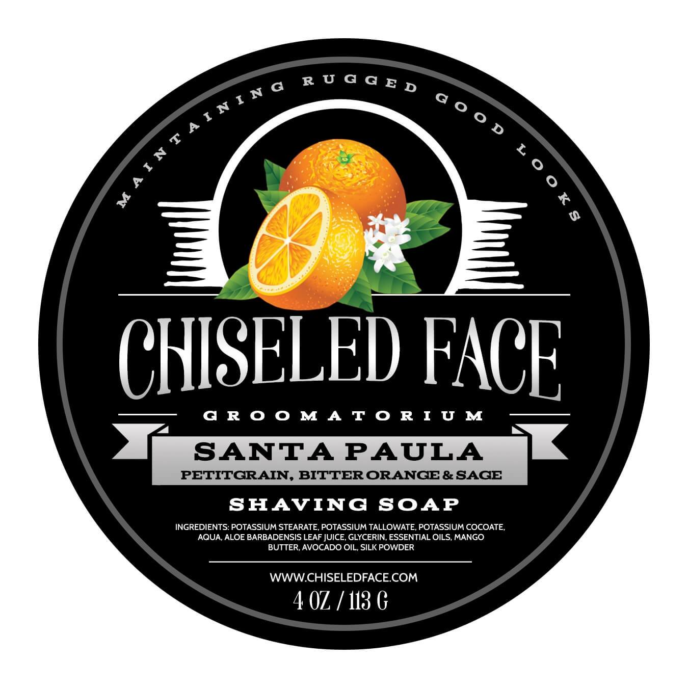 Chiseled Face - Santa Paula - Soap image