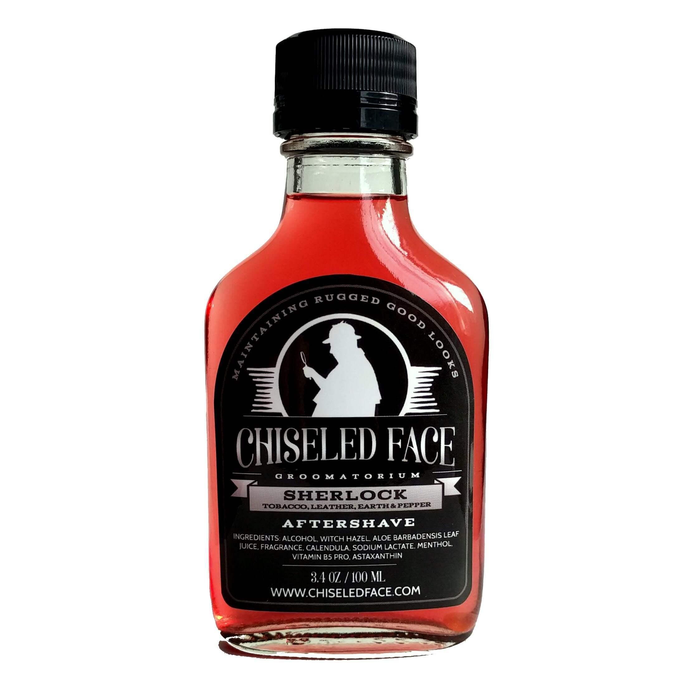 Chiseled Face - Sherlock - Aftershave image