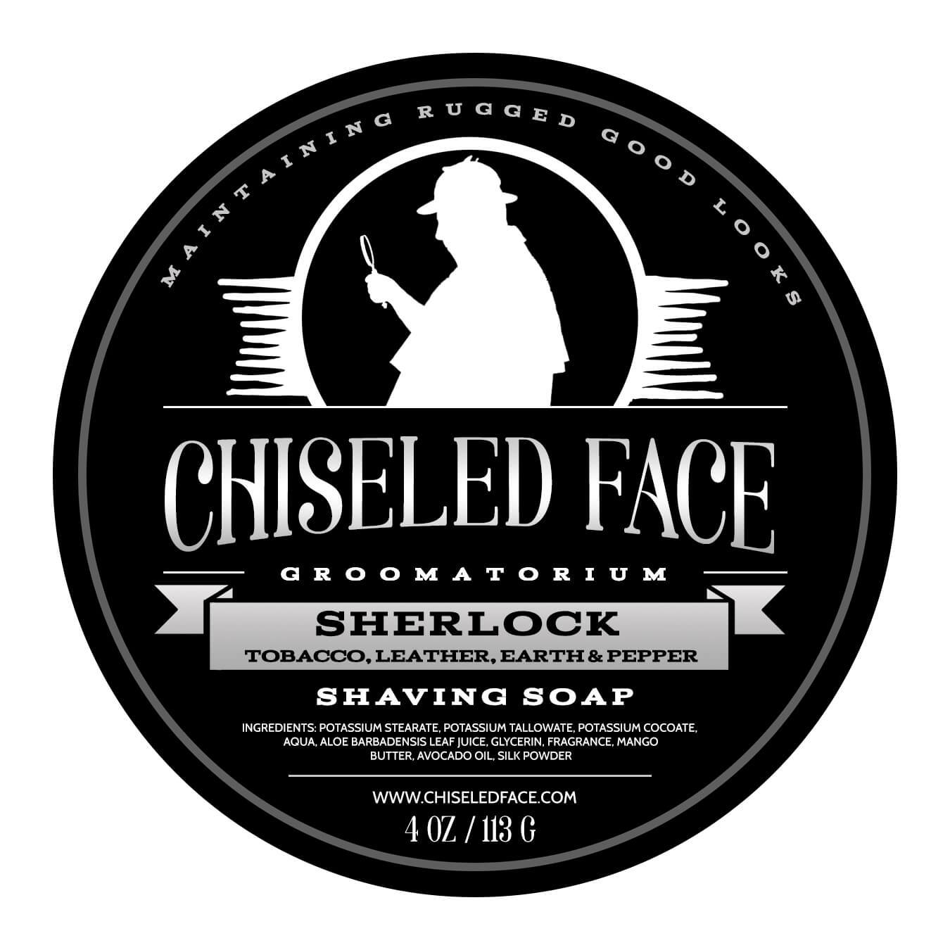 Chiseled Face - Sherlock - Soap image
