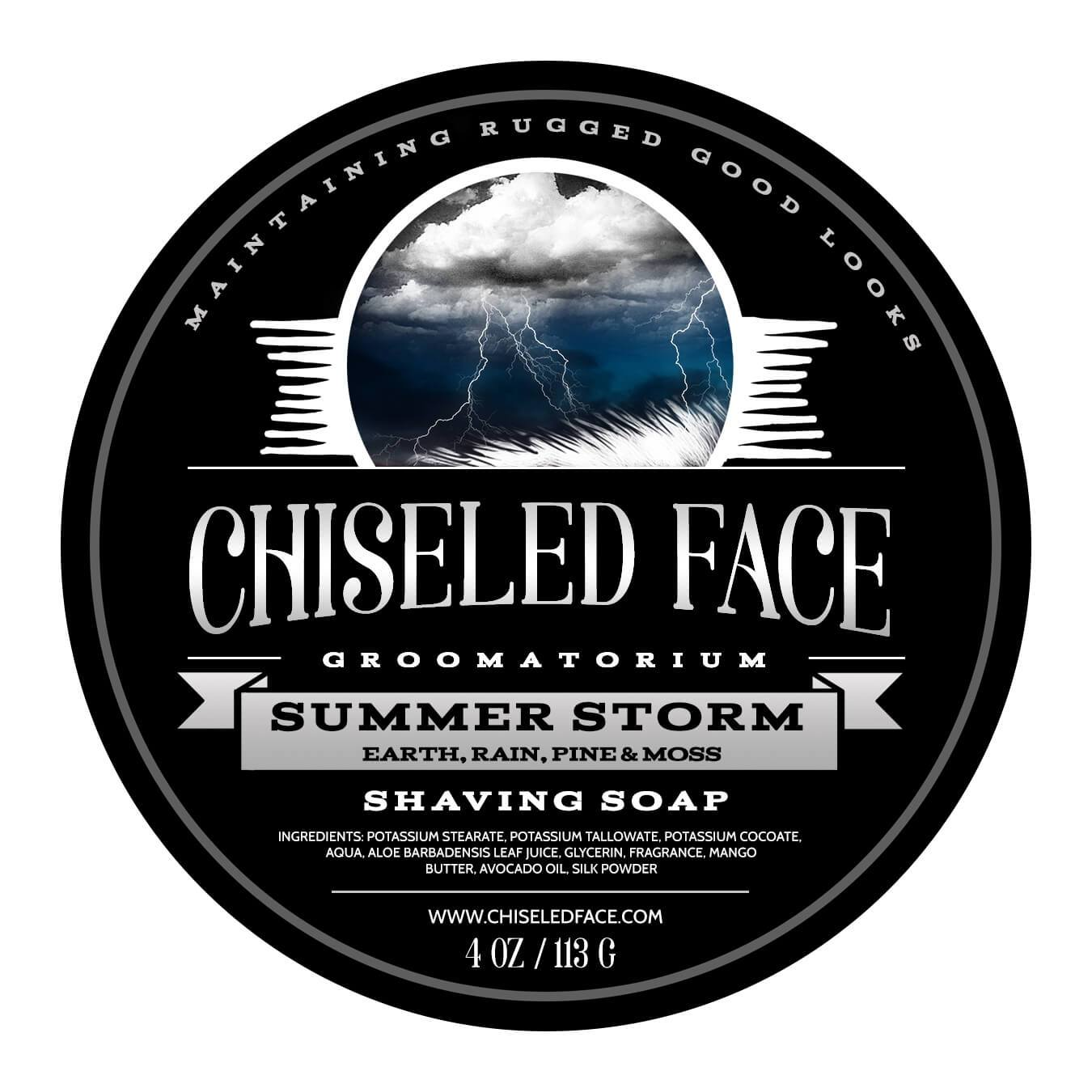 Chiseled Face - Summer Storm - Soap image