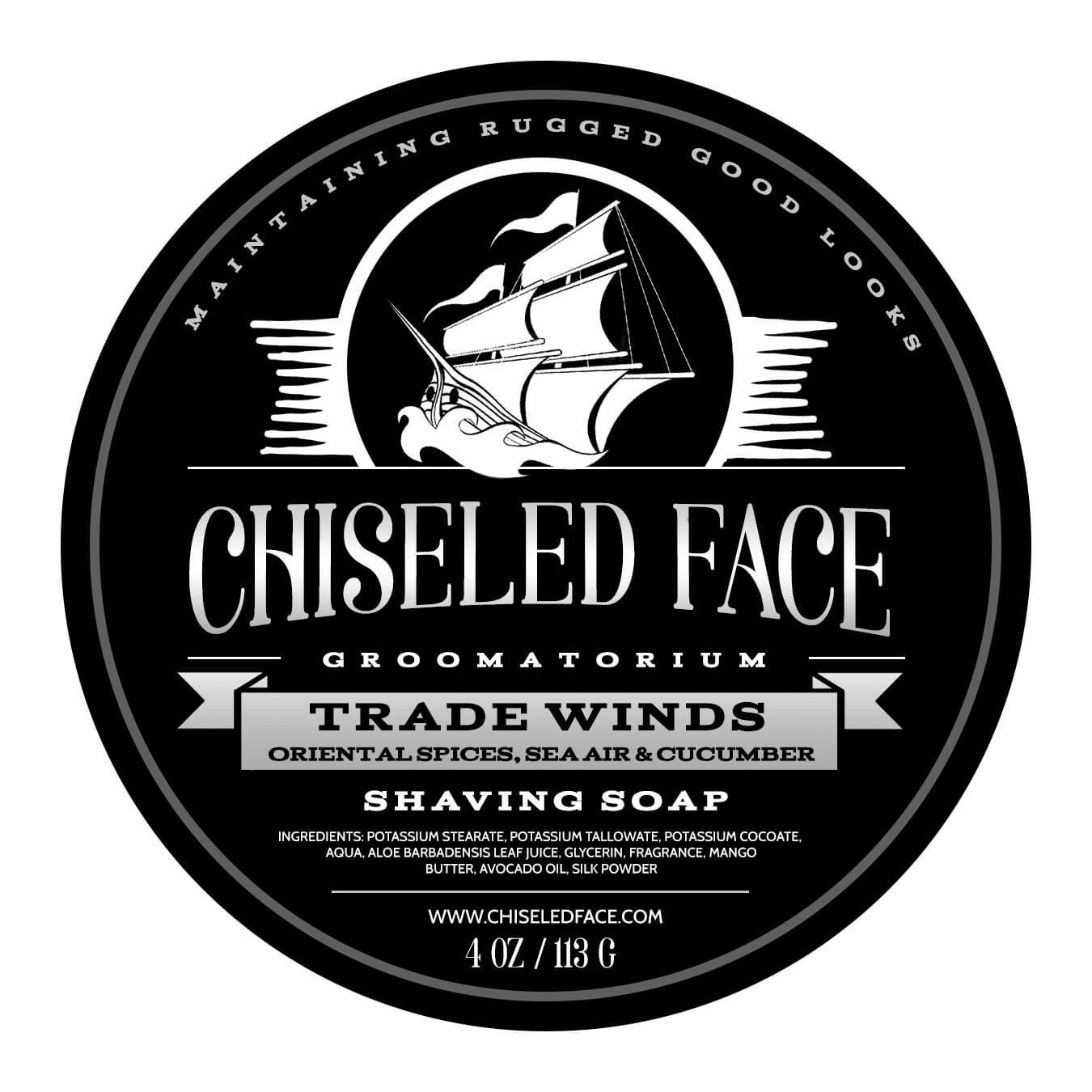 Chiseled Face - Trade Winds - Soap image