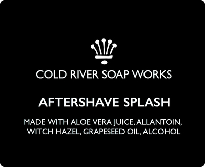 Cold River Soap Works - Fragile Confusion - Aftershave (Alcohol Free) image
