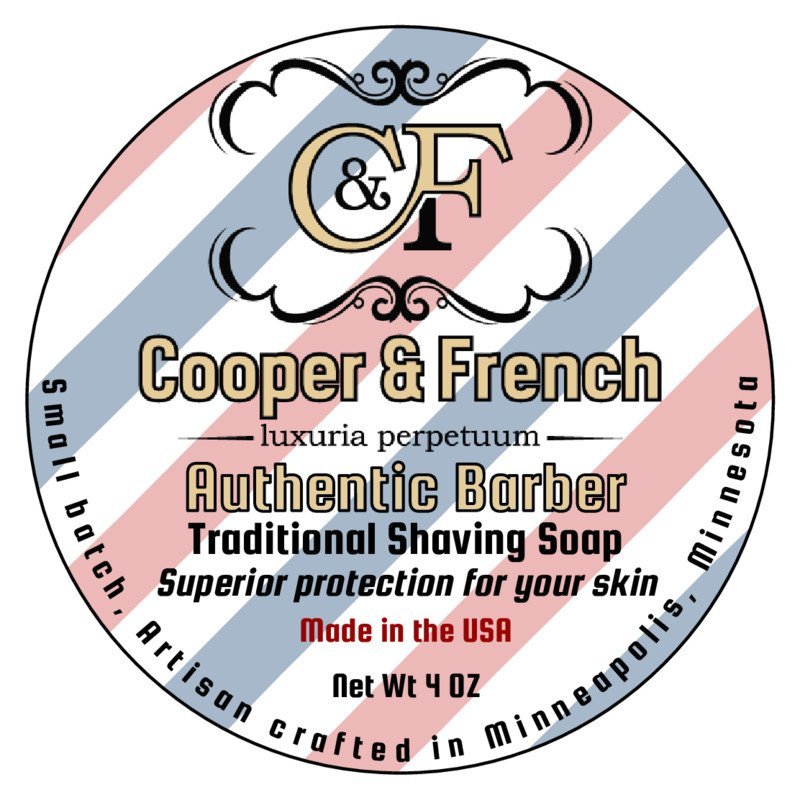 Cooper & French - Authentic Barbershop - Soap image