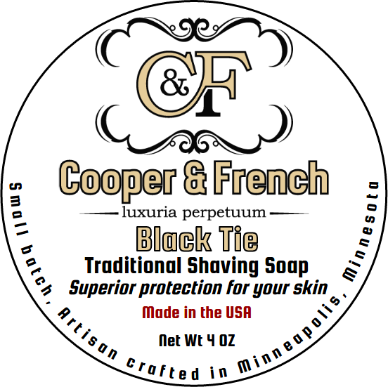 Cooper & French - Black Tie - Soap (Vegan) image