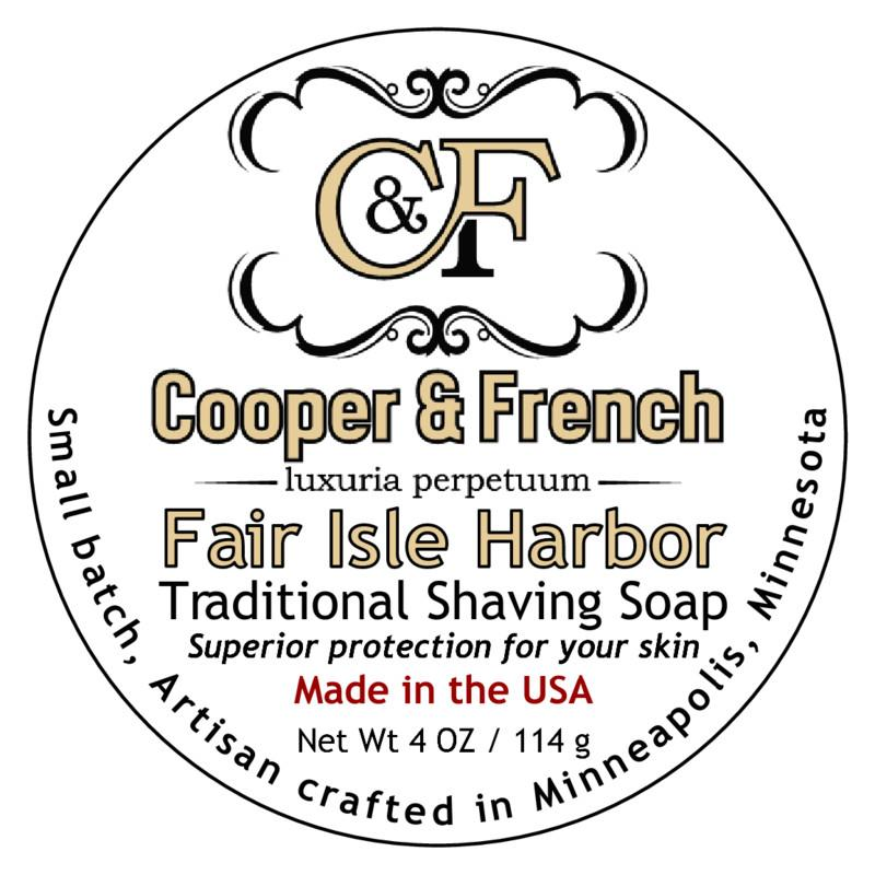 Cooper & French - Fair Isle Harbor - Soap image