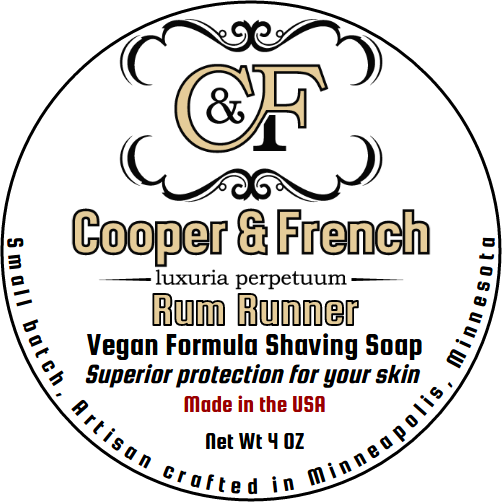 Cooper & French - Rum Runner - Soap (Vegan) image