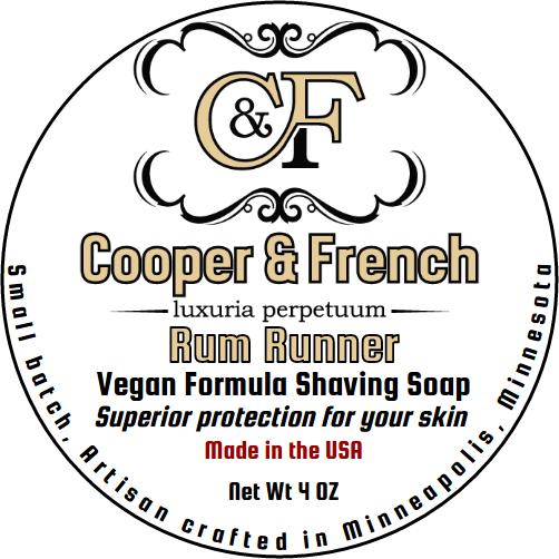 Cooper & French - Rum Runner - Soap (Vegan) image