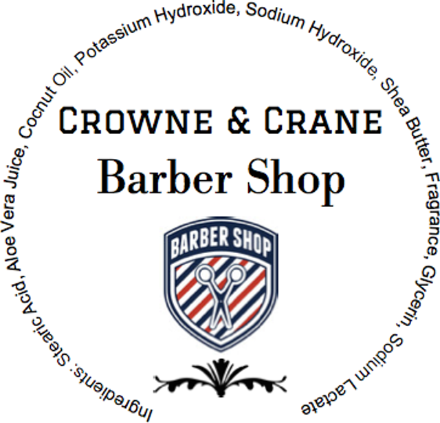Crowne & Crane - Barber Shop - Soap image