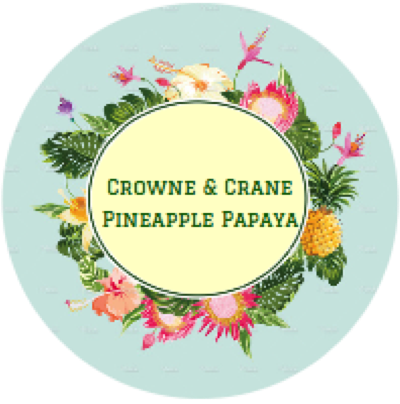Crowne & Crane - Pineapple Papaya - Soap image