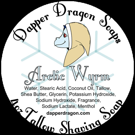 Dapper Dragon - Arctic Wyrm - Soap image