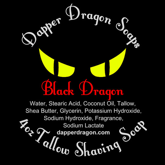 Dapper Dragon - Black Dragon - Soap image
