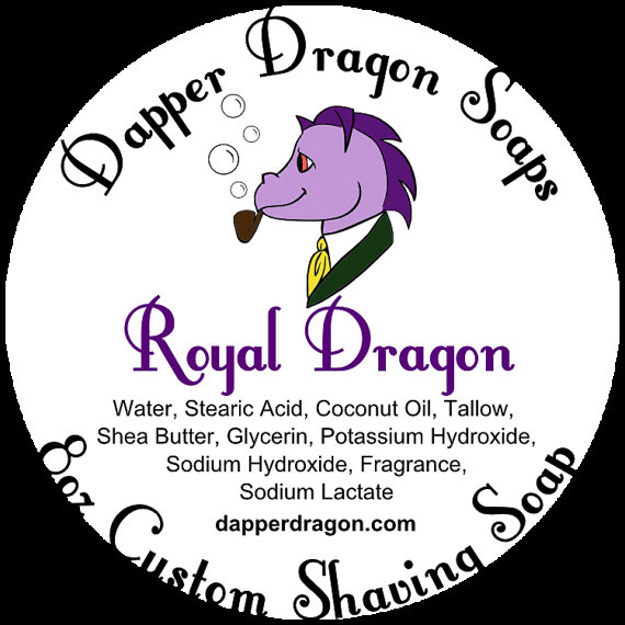 Dapper Dragon - Royal Dragon - Soap image