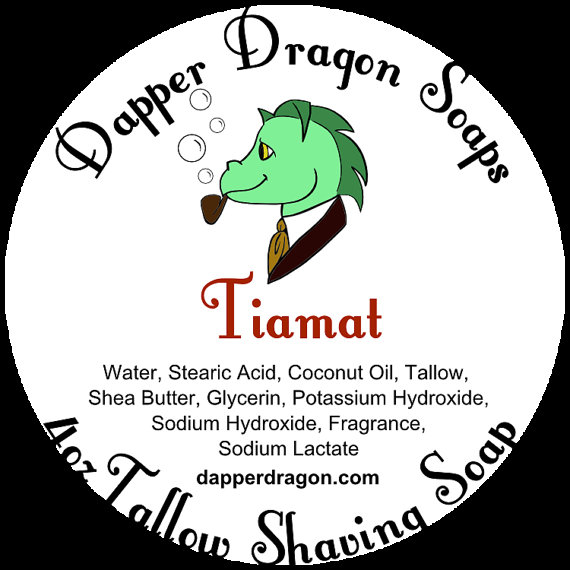 Dapper Dragon - Tiamat - Soap image