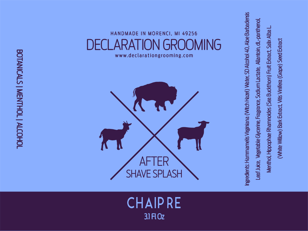 Declaration Grooming - Chaipre - Aftershave image