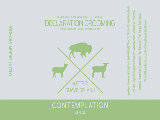 Declaration Grooming - Contemplation - Aftershave image