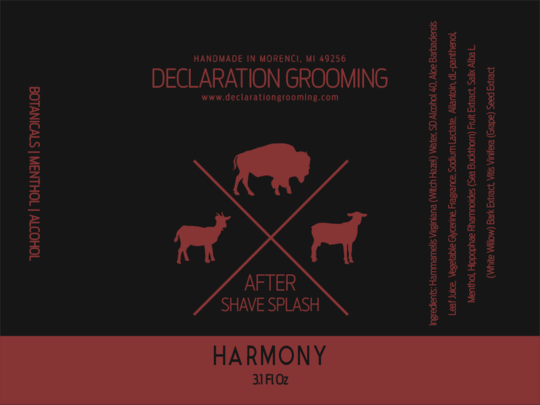 Declaration Grooming - Harmony - Aftershave image