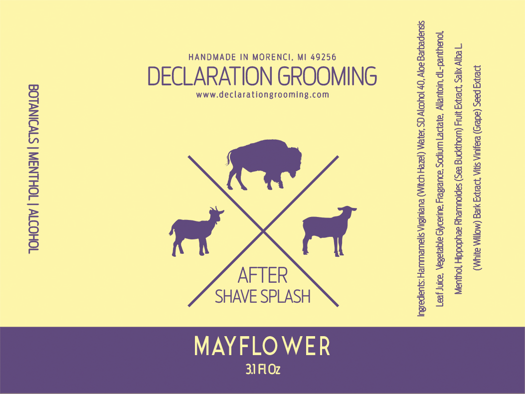 Declaration Grooming - Mayflower - Aftershave image