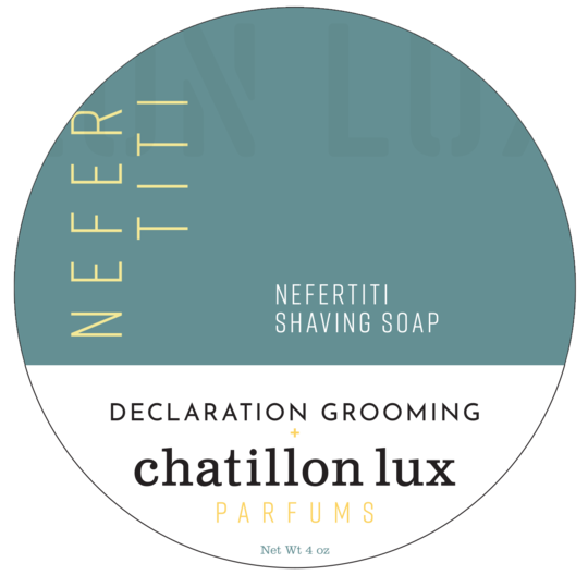 Chatillon Lux/Declaration Grooming - Nefertiti - Soap image