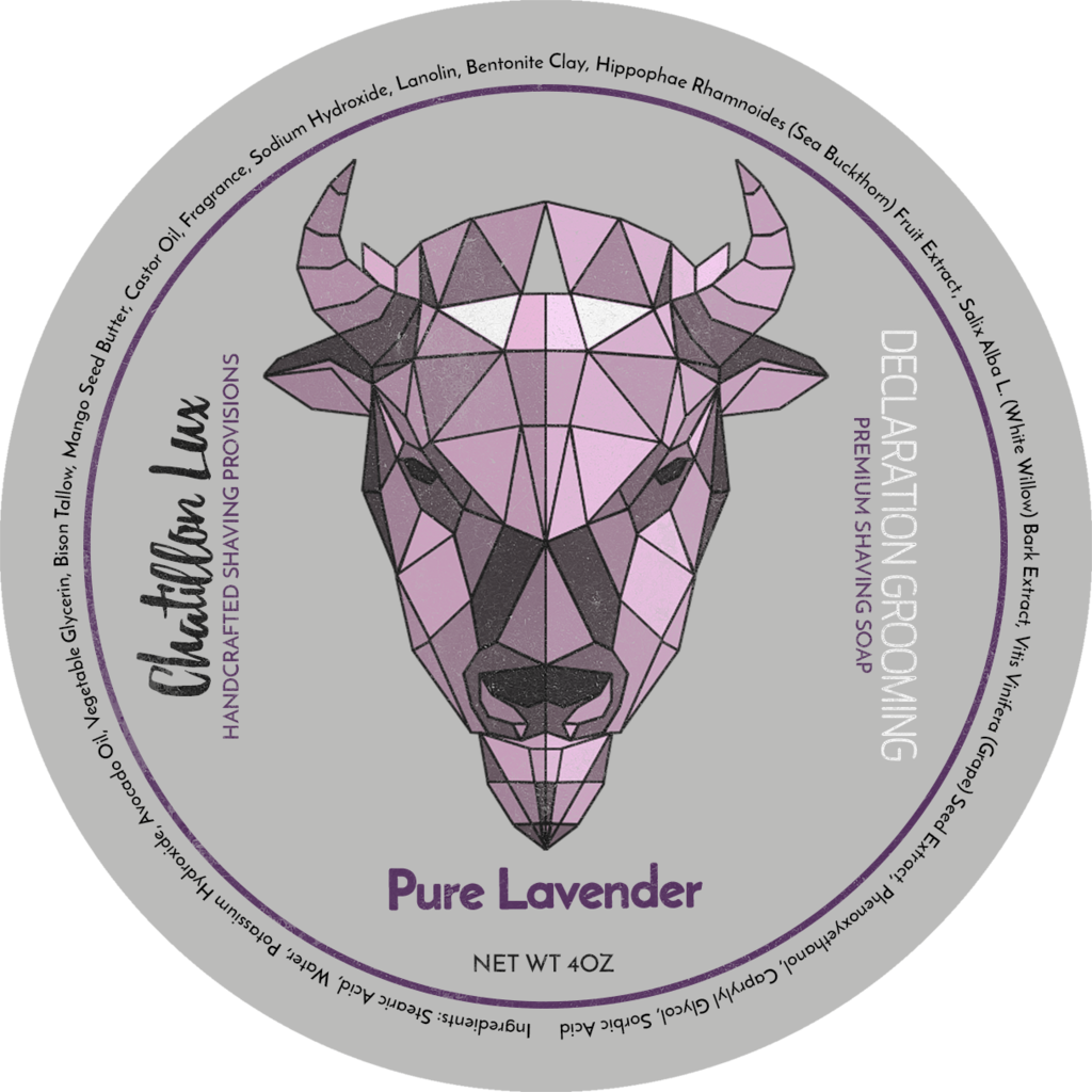 Chatillon Lux/Declaration Grooming - Pure Lavender - Soap image