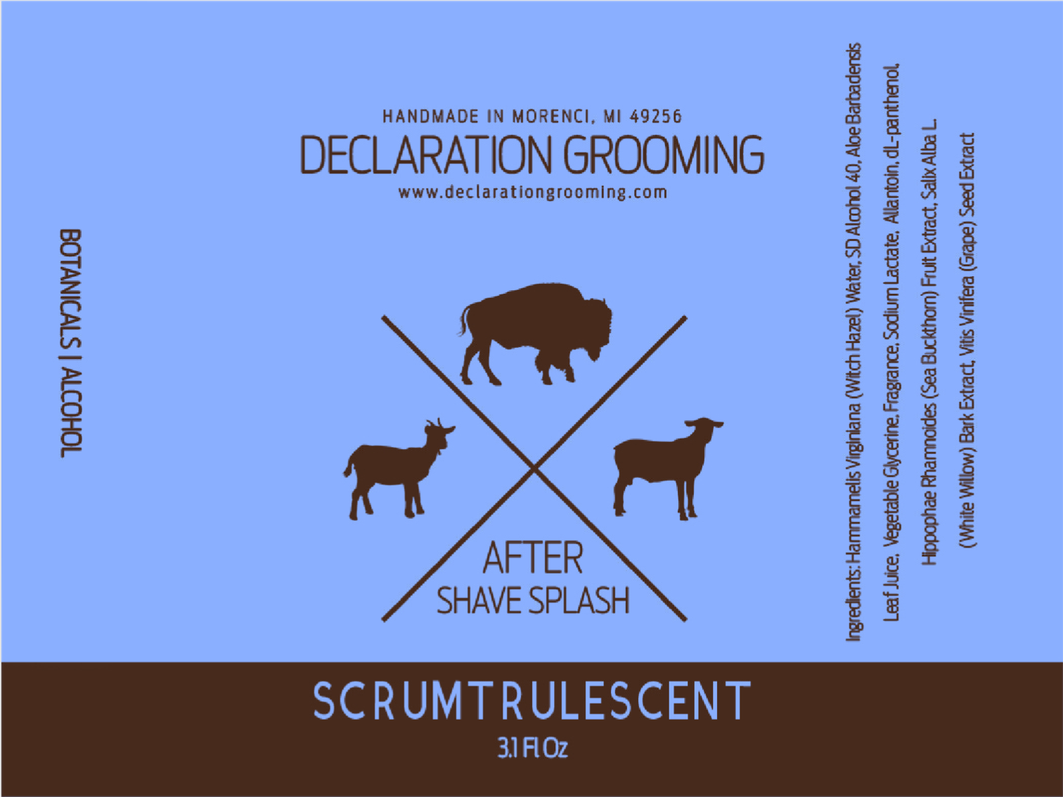 Declaration Grooming - Scrumtrulescent - Aftershave image