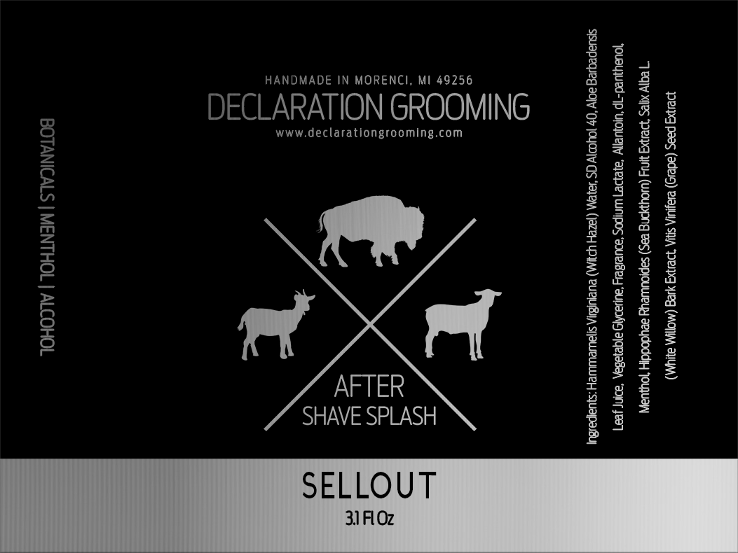 Declaration Grooming - Sellout - Aftershave image