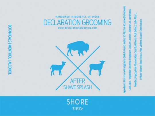 Declaration Grooming - Shore - Aftershave image
