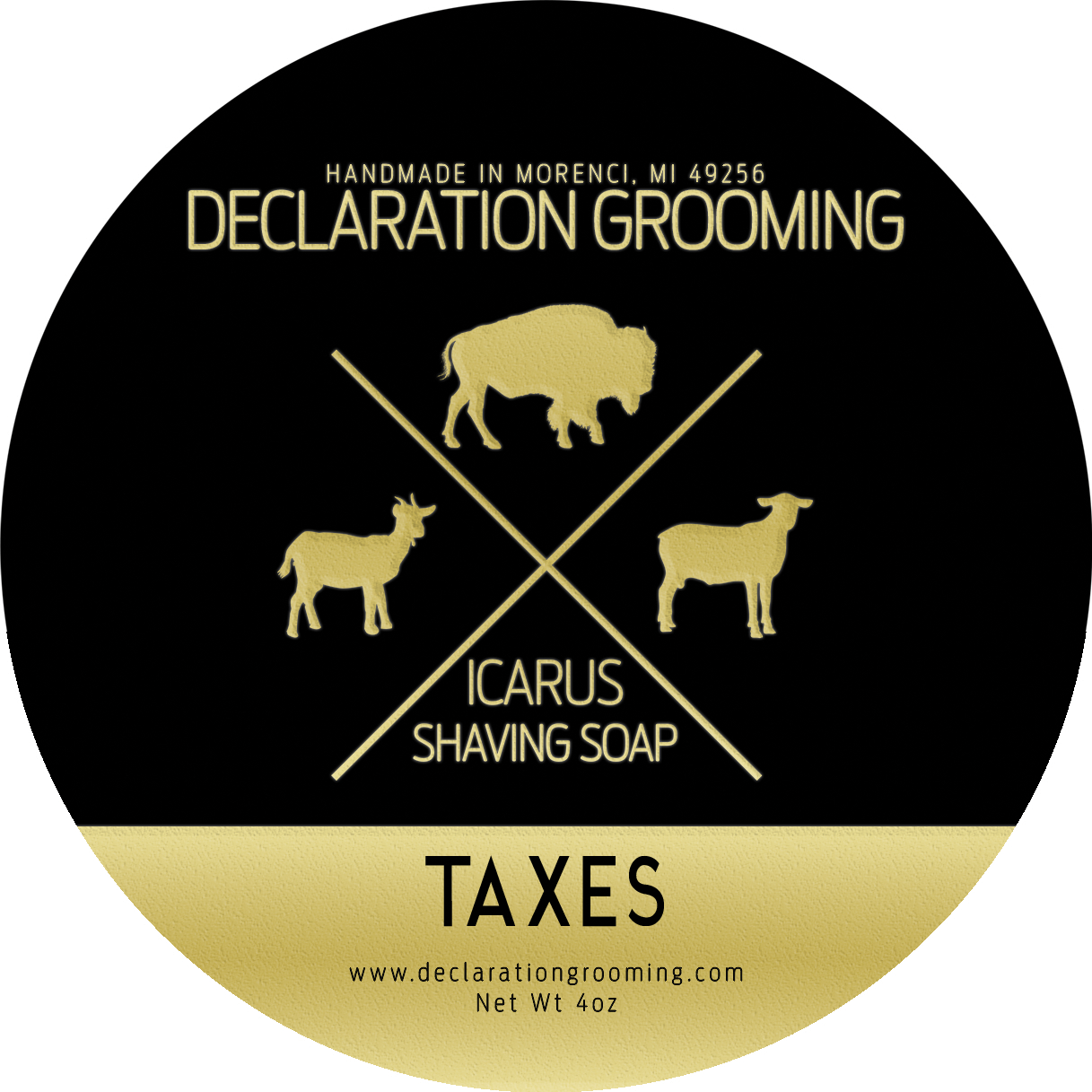 Declaration Grooming - Taxes - Soap image