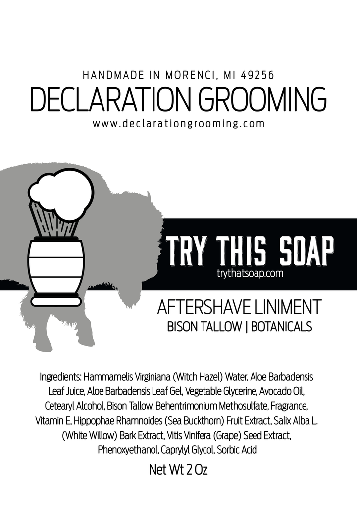 Declaration Grooming - Try This Soap - Liniment image