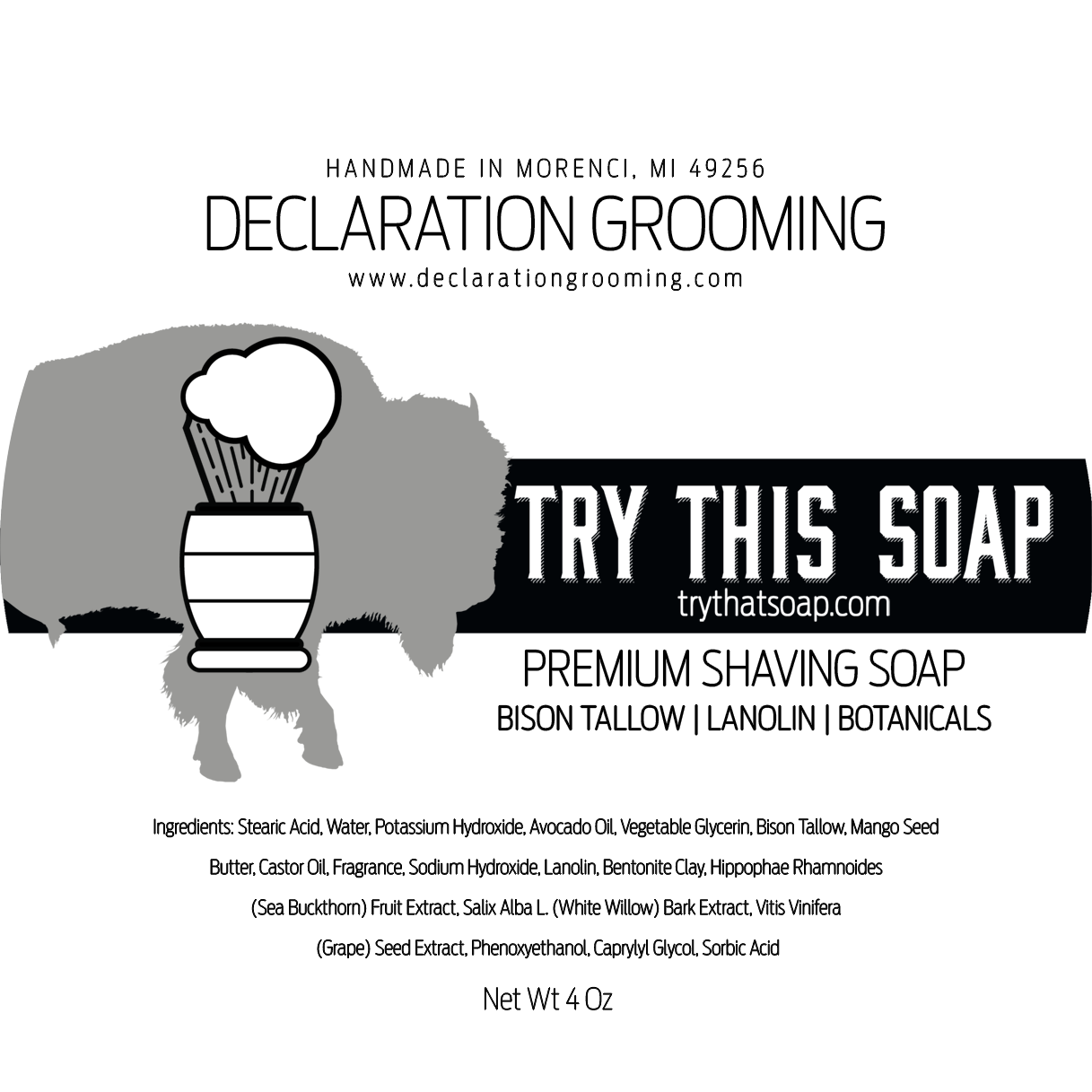 Declaration Grooming - Try This Soap - Soap image