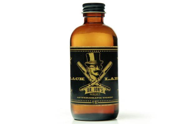 Dr. Jon's - Black Label - Aftershave image