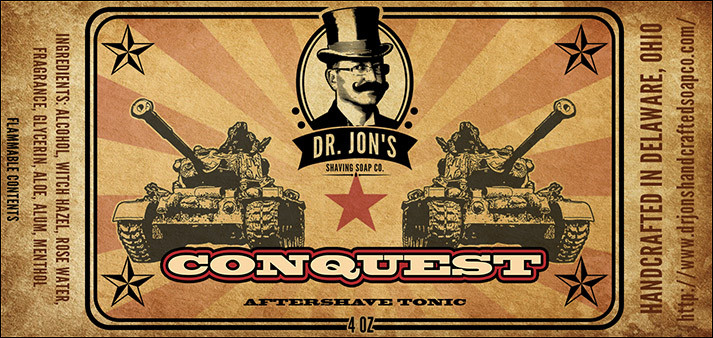 Dr. Jon's - Conquest - Aftershave image